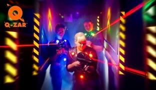 1-Hour Laser Tag War Game
