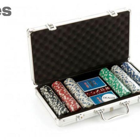 Stokes Aluminium Casing Poker Set 300 Pcs