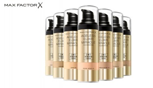 Max Factor 2 In1 Ageless Elixir Miracle Foundation - 40 Light Ivory