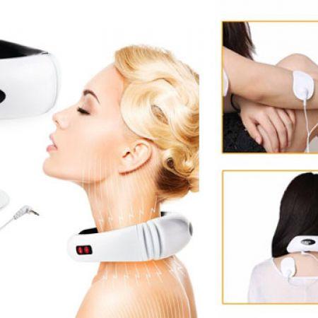 """Résultat de recherche d'images pour """"Premium Electric Pulse Back and Neck Massager"""""""