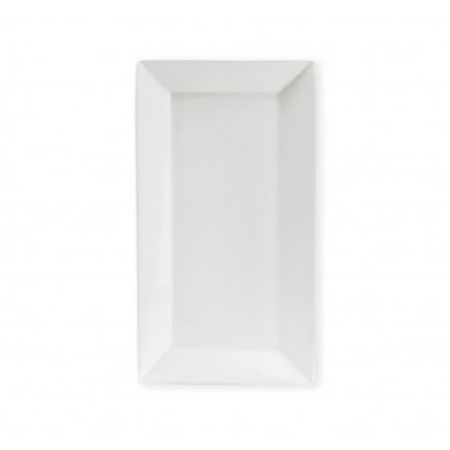 Essence Porcelain Snow White Rectangular Plate 29 x 16 cm