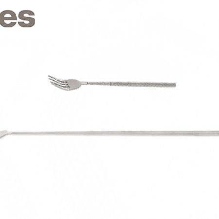 """Stokes Stainless Steel Extendable Fork Up To 25"""""""