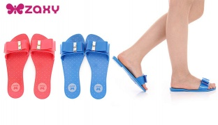 Zaxy Life Gaspea Flip Flops For Women - Blue - Size: 37