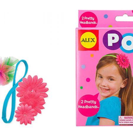 Alex Toys Pretty Headbands Pops Craft 2 Pcs