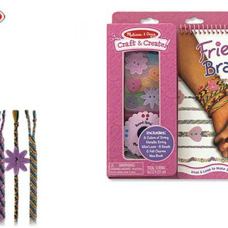 Melissa & Doug Craft & Create Friendship Bracelets