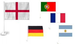 World Cup Soccer Country Car Flag Stick - Germany