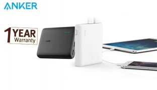 Anker PowerCore 10400 Power Bank For iPhone, iPad, Samsung Galaxy and more 10400 mAh - Black