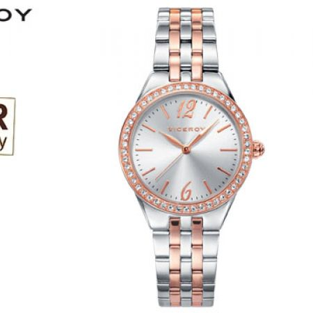 Viceroy Steel Chic 42232-95 Round Dial Watch For Women