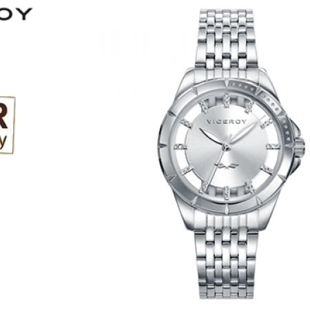 Viceroy Steel 40934-17 Antonio Banderas Round Dial Watch For Women