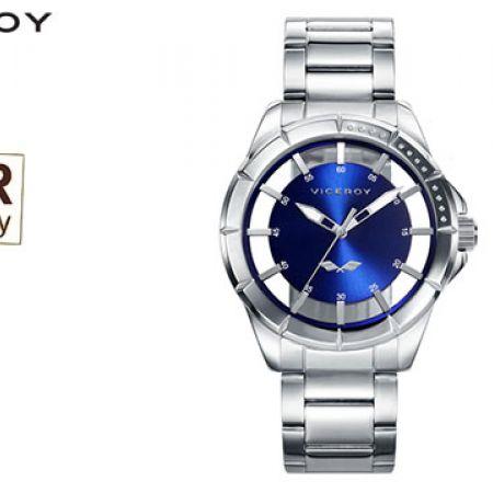 Viceroy Steel 401051-37 Antonio Banderas Round Dial Watch For Men