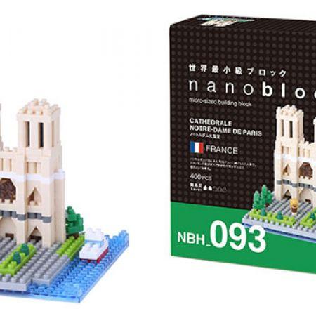 Kawada Nanoblock Notre Dame De Paris Cathedral 400 Pcs