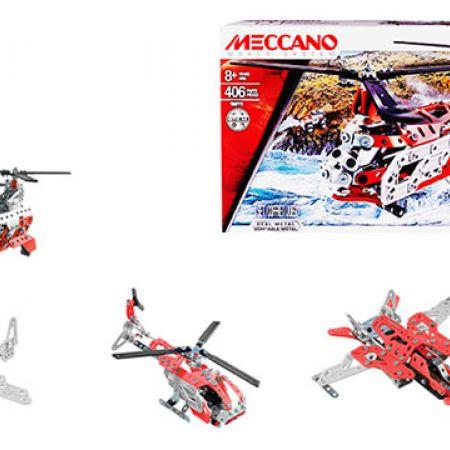 Spin Master Meccano 20 Model Set Helicopter Building Set