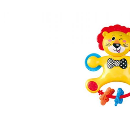 Playgo Lion The Rattle