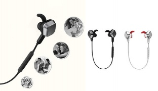 Remax RM-S2 Sport Magnet Noise Cancelling Wireless Bluetooth Headset With Mic - White