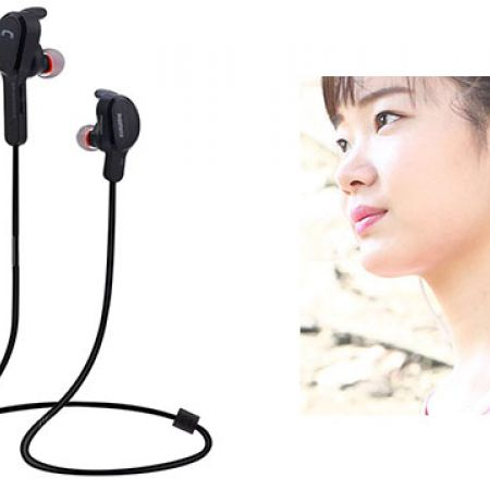 Remax RB-S5 Black Bluetooth V4.1 Magnetic Stereo Sport Earphones Headphones With Mic