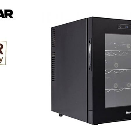 Tristar Wine Cooler Suitable For 16 Bottles Very Low Vibration 70 W 49 x 42 x 52 cm
