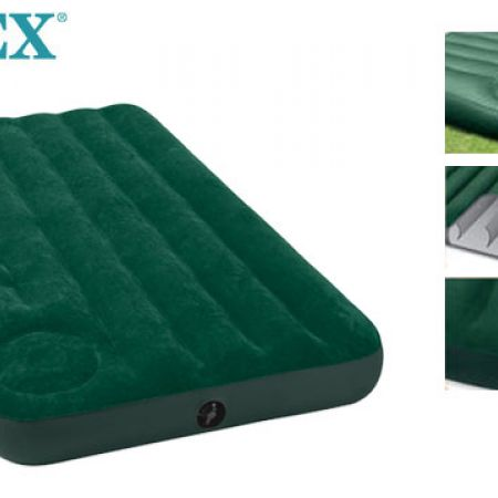 Intex Junior Twin Downy Airbed With Built-in Foot Pump 191 x 76 x 22 cm