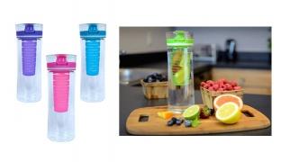 Cool Gear Ripple Infuser Water Bottle 28 oz - Blue