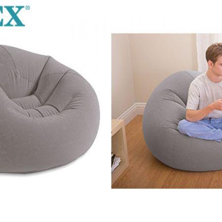 Intex Inflatable Beanless Bag Chair 107 x 104 x 69 cm