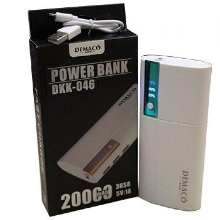 Demaco DKK-46 Portable Power Bank 20000 mAh