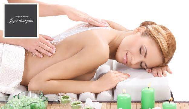 40 Min. Full Body Peeling Scrub Massage With Facial Peeling