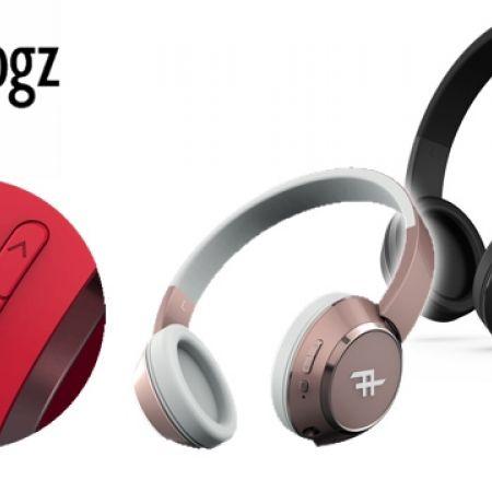 0cb6d846ca3 iFrogz Audio Coda Wireless Headphone With Mic - Black - Makhsoom