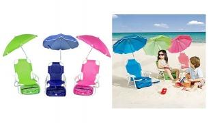 Beach Baby Umbrella Chair 32 x 25 x 48 cm - Green