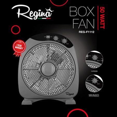 Regina Grey Box Fan 50 W
