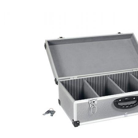 Varo PRM1010780 Silver 80 CD Aluminium Case