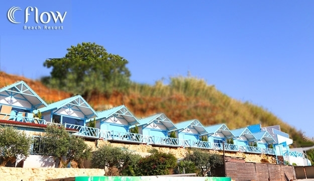 1-Night Stay For Two in a Hilltop Bungalow With Beach Entrance Valid on Weekdays