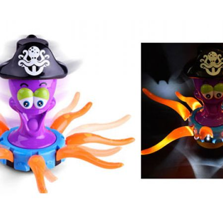 Captain Octopus Electric Interactive Toy With Music & Lights 41 x 25 cm