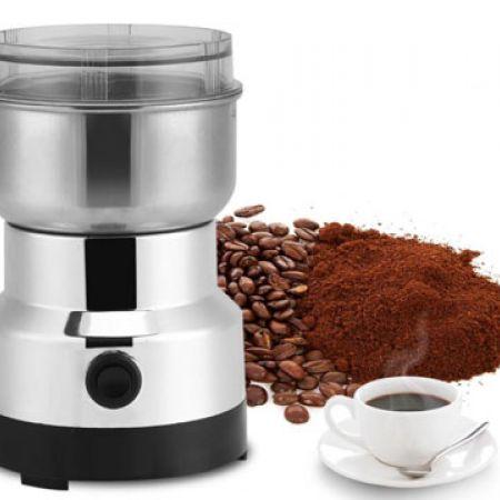 Geppas Stainless Steel Electric Coffee Grinder 150 W