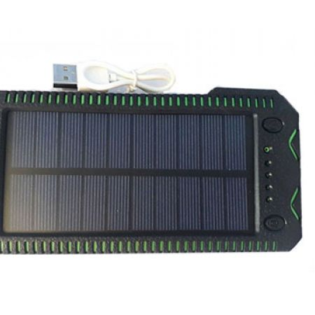 Solar Green Power Bank 10000 mAh