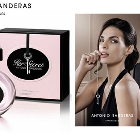 Antonio Banderas Her Secret Eau De Toilette For Women 80 ml