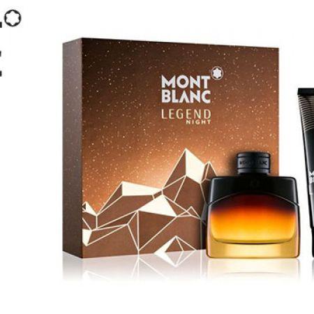 Mont Blanc Legend Night 2 Pcs Gift Set EDP 50 ml & Shower Gel 100 ml For Men