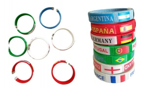 World Cup Football Fans Bracelets Band - Germany