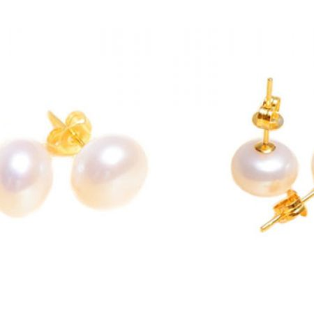 Natural Freshwater Pearl Earrings For Women