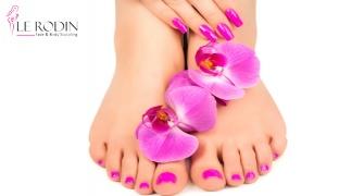 Manicure & Pedicure With Scrub