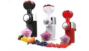 Swirlio Frozen Fruit Dessert & Ice Cream Maker - Black