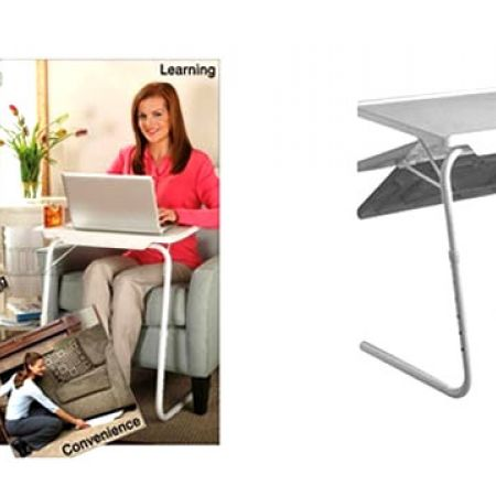 Foldable & Adjustable Multi-Purpose Table Mate II 28.5 x 20.25 x 18.5 inch