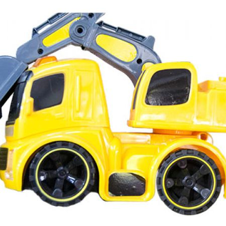 Construction Zone Super Power Bulldozer
