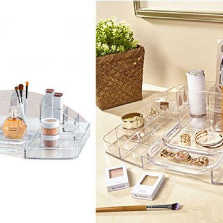 Design Acrylic Vanity Makeup Tray