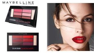 Maybelline New York Lip Studio Color Contour Lip Palette 6 Colors - Crimson
