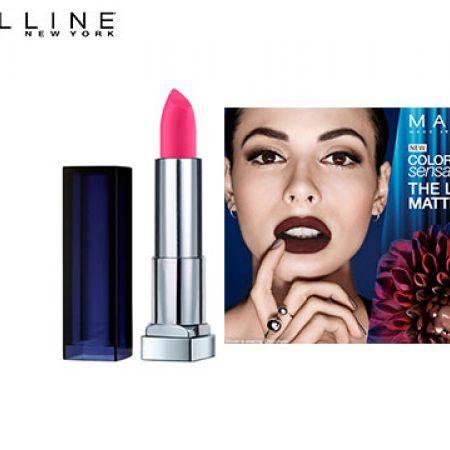 Maybelline New York Color Sensational The Loaded Bolds Lipstick 882 Fiery Fuschia