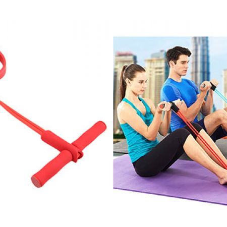 Stretching Slimming Pull Up Red Spring Expander