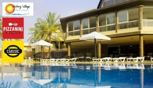 1-Night Stay For Kids With Breakfast Buffet, Lunch or Dinner & Water Park Access