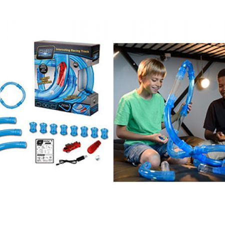 Chariots Speed Pipe Racing Track 16 Pcs