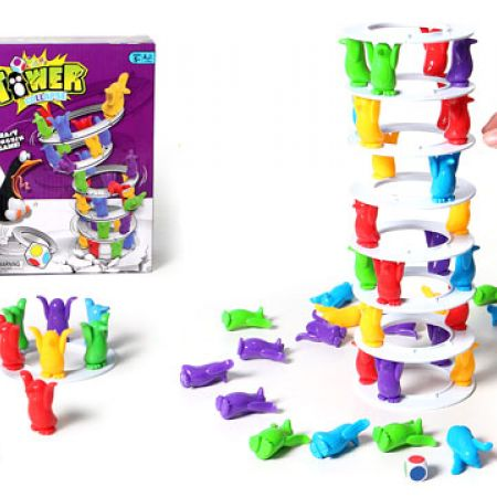 Tower Collapse Crazy Penguin Game