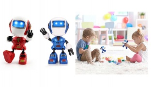 Alloy Smart Sensing Touch Robot - Blue