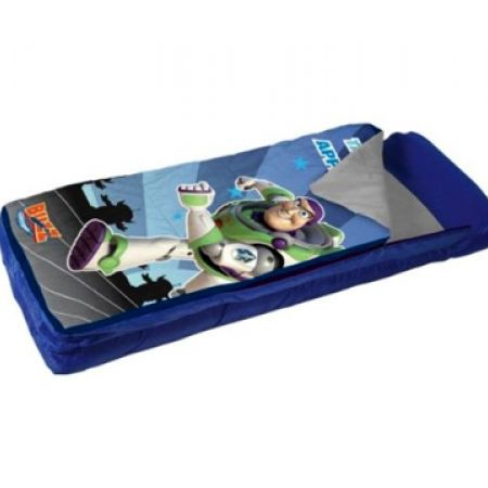 Exxel Toy Story 3 Buzz Lightyear Ready Bed Inflatable EZ Mattress Sleeping Bag With Hand/Foot Pump